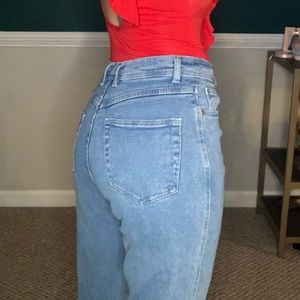 Vintage bill Blass high waisted tapered 90's jeans